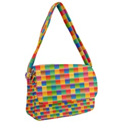 Background Colorful Abstract Courier Bag