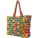 Background Colorful Abstract Simple Shoulder Bag View1