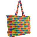 Background Colorful Abstract Simple Shoulder Bag View2
