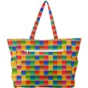 Background Colorful Abstract Simple Shoulder Bag View3