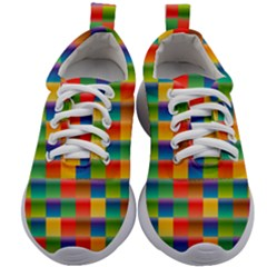 Background Colorful Abstract Kids Athletic Shoes by HermanTelo