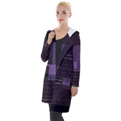 Nfluent s Check-cs Glitch Code Hooded Pocket Cardigan by HoldensGlitchCode