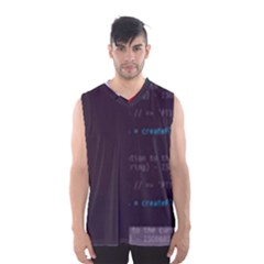 Webpapaya Pomeranian-durations s Floor-js Glitch Code Boxy Basketball Tank Top by HoldensGlitchCode