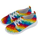 Peace Symbol Rainbow Women s Lightweight Sports Shoes View2