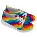 Peace Symbol Rainbow Women s Lightweight Sports Shoes View3