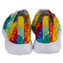 Peace Symbol Rainbow Women s Lightweight Sports Shoes View4