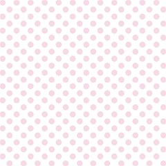 Dotted In Pink Fabric by TimelessDesigns
