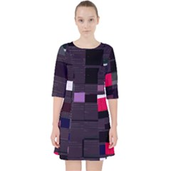 Iyzhang Demikernel s Io Queue Api Cc Glitch Code Dress With Pockets by HoldensGlitchCode