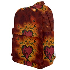 Beautiful Heart With Leaves Classic Backpack