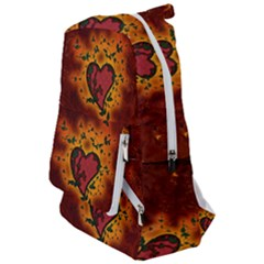 Beautiful Heart With Leaves Travelers  Backpack