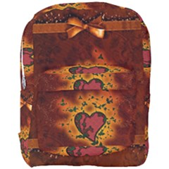 Beautiful Heart With Leaves Full Print Backpack