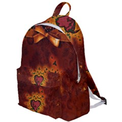 Beautiful Heart With Leaves The Plain Backpack