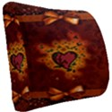 Beautiful Heart With Leaves Seat Cushion View2