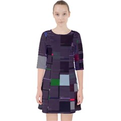Holdenk Clothes-from-code s Gen-py Glitch Code Dress With Pockets by HoldensGlitchCode
