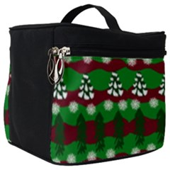Snow Trees and Stripes Make Up Travel Bag (Big)