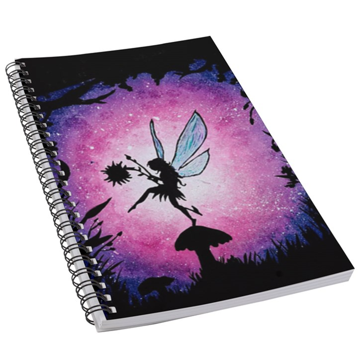 The fairy and the flower 5.5  x 8.5  Notebook