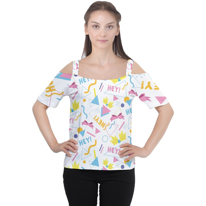 1 Arnold Cutout Shoulder Tee