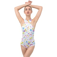 1 Arnold Cross Front Low Back Swimsuit