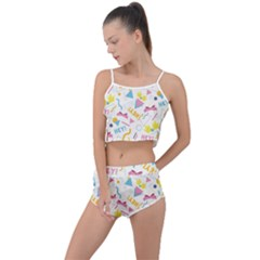 1 Arnold Summer Cropped Co Ord Set