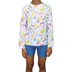 1 Arnold Kids  Long Sleeve Swimwear