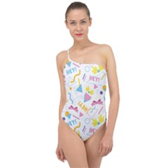 1 Arnold Classic One Shoulder Swimsuit