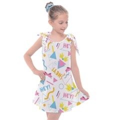 1 Arnold Kids  Tie Up Tunic Dress
