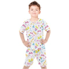 1 Arnold Kids  Tee And Shorts Set