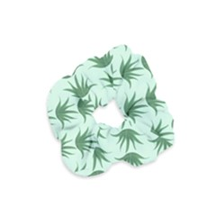 Aloe Plants Pattern Scrapbook Velvet Scrunchie by Alisyart
