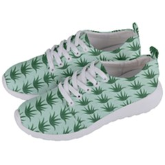 Aloe Plants Pattern Scrapbook Men s Lightweight Sports Shoes by Alisyart