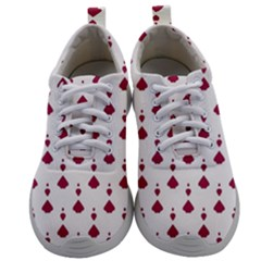 Pattern Card Mens Athletic Shoes