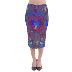 Netzauge Velvet Midi Pencil Skirt