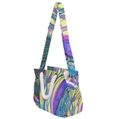 Happpy (4) Rope Handles Shoulder Strap Bag by nicholakarma