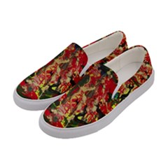 Red Country-1-2 Women s Canvas Slip Ons by bestdesignintheworld