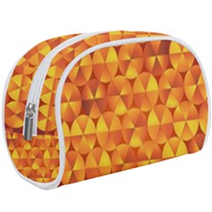 Background Triangle Circle Abstract Makeup Case (large) by HermanTelo