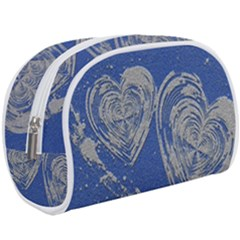 Heart Love Valentines Day Makeup Case (large)
