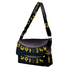 Look To The Stars Full Print Messenger Bag (m) by Alchemy2