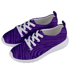 Pattern Texture Purple Women s Lightweight Sports Shoes by Mariart