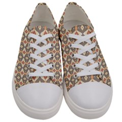 Background Art Designs Women s Low Top Canvas Sneakers