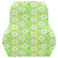 Zephyranthes Candida White Flowers Car Seat Back Cushion
