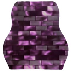 Background Wall Light Glow Car Seat Velour Cushion