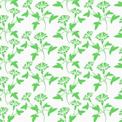 Floral Green Fabric by TimelessDesigns