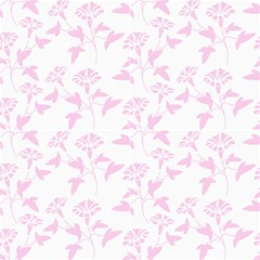 Floral Pink Fabric by TimelessDesigns