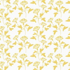 Floral Yellow Fabric by TimelessDesigns