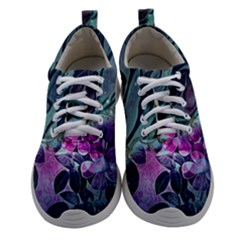 Decorative Floral Design Women Athletic Shoes by FantasyWorld7
