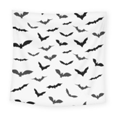 Bats Pattern Square Tapestry (large) by Sobalvarro
