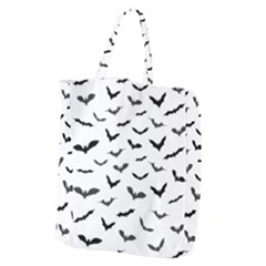 Bats Pattern Giant Grocery Tote by Sobalvarro
