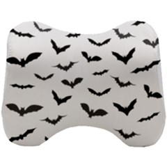 Bats Pattern Head Support Cushion by Sobalvarro
