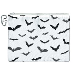 Bats Pattern Canvas Cosmetic Bag (xxl) by Sobalvarro