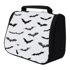 Bats Pattern Full Print Travel Pouch (small) by Sobalvarro