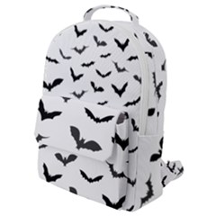Bats Pattern Flap Pocket Backpack (small) by Sobalvarro
